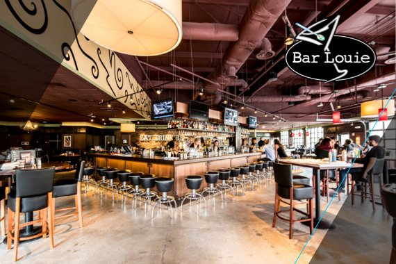 Bringing guests back to Bar Louie's table with relevant messaging