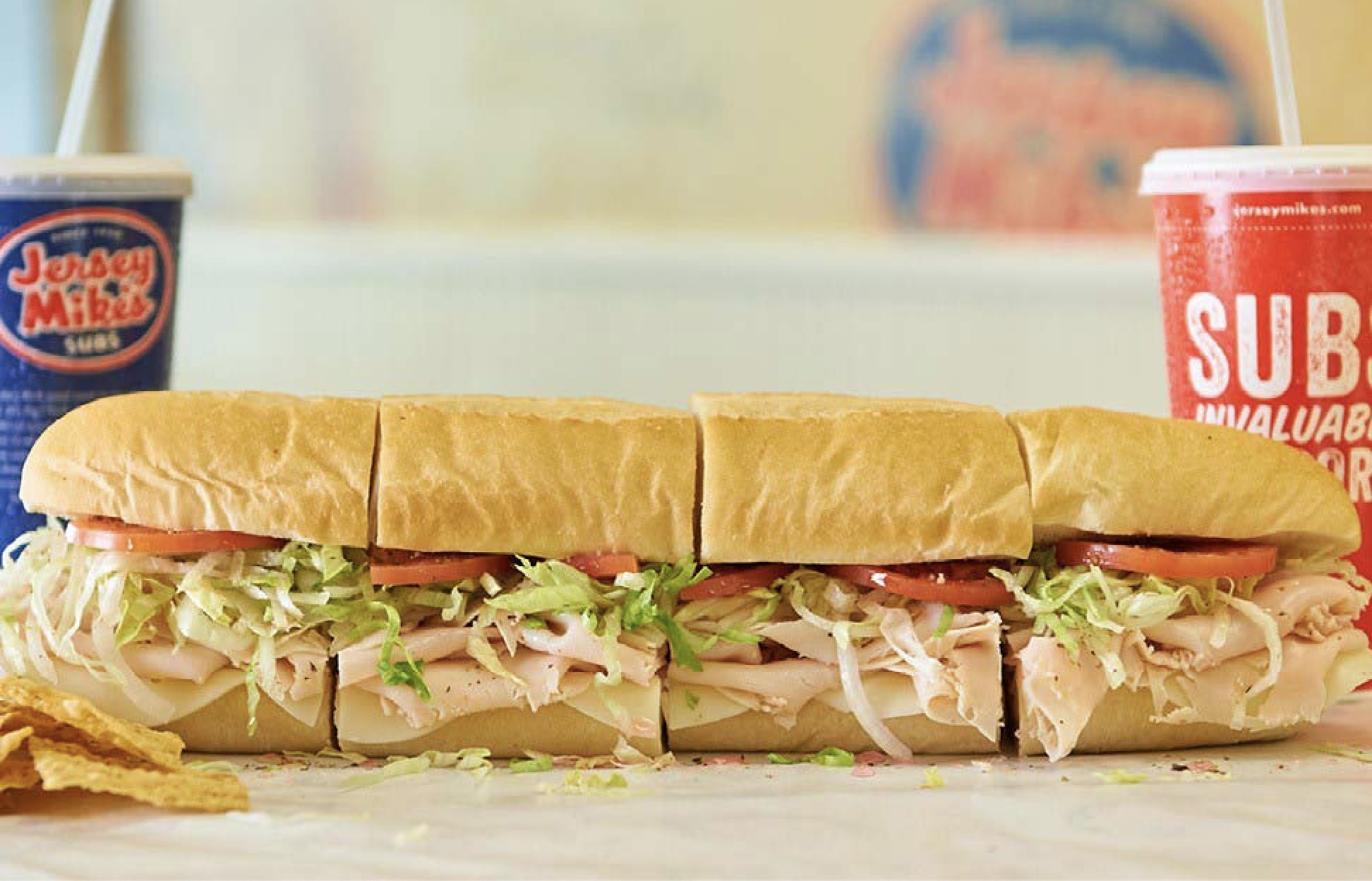 Matching media for Jersey Mike's